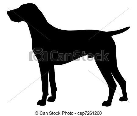 German Shorthaired Pointer clipart  The Clipart csp7261260 of