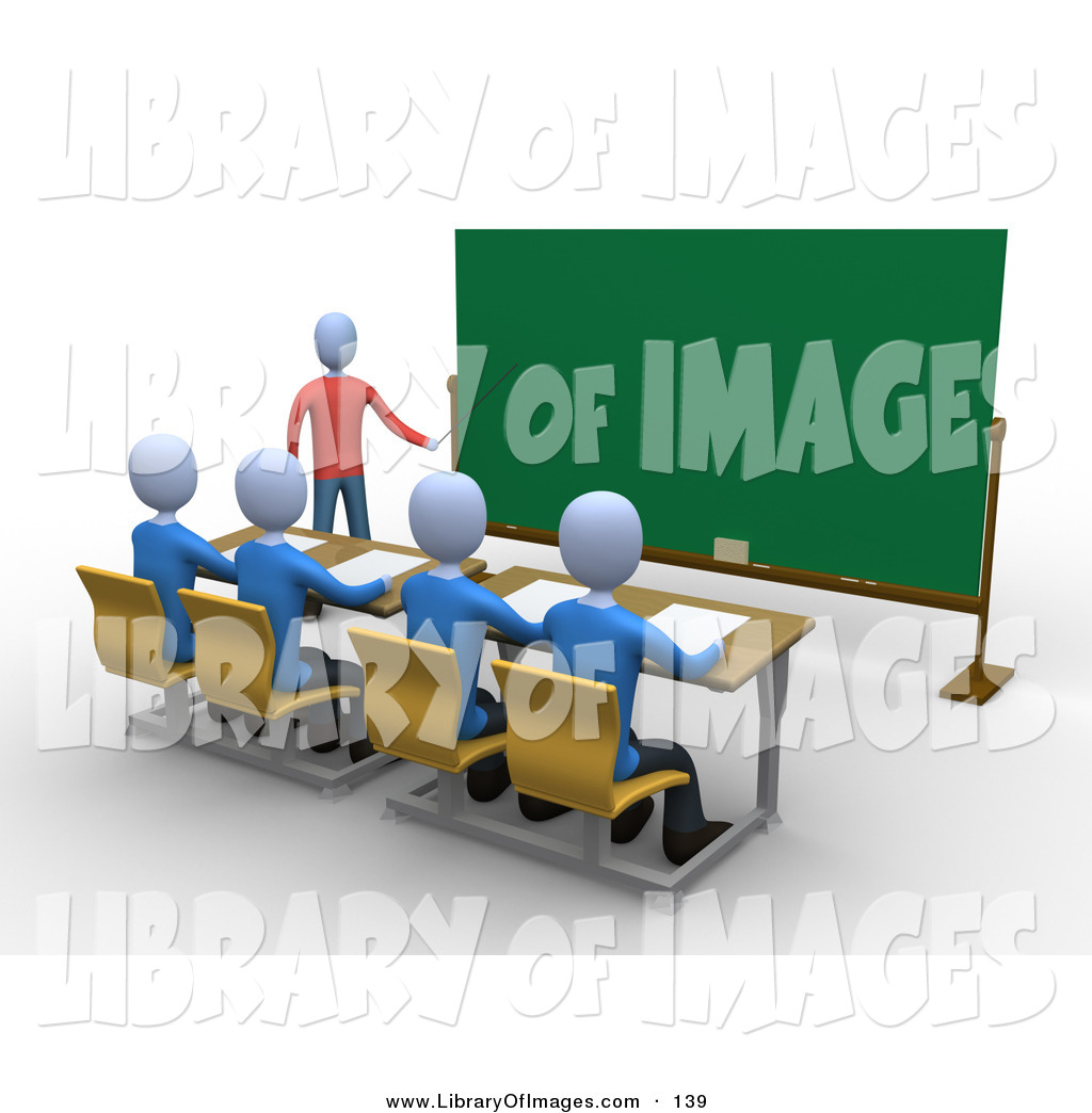 Pointer clipart male math teacher Stick a Professor in Students