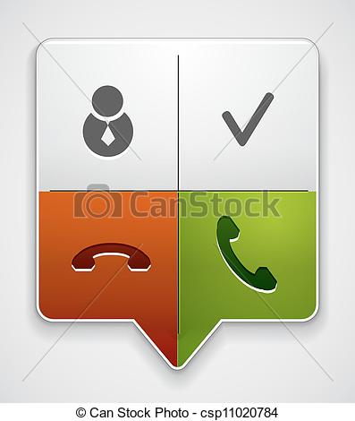 Pointer clipart one Pointer of Phone in one