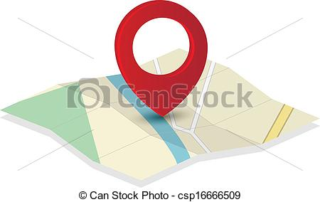 Pointer clipart pin With csp16666509 of Map Pin
