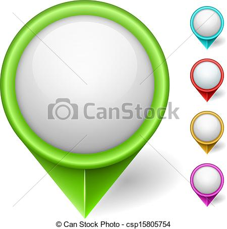 Pointer clipart position Color Clipart isolated csp15805754 pointer