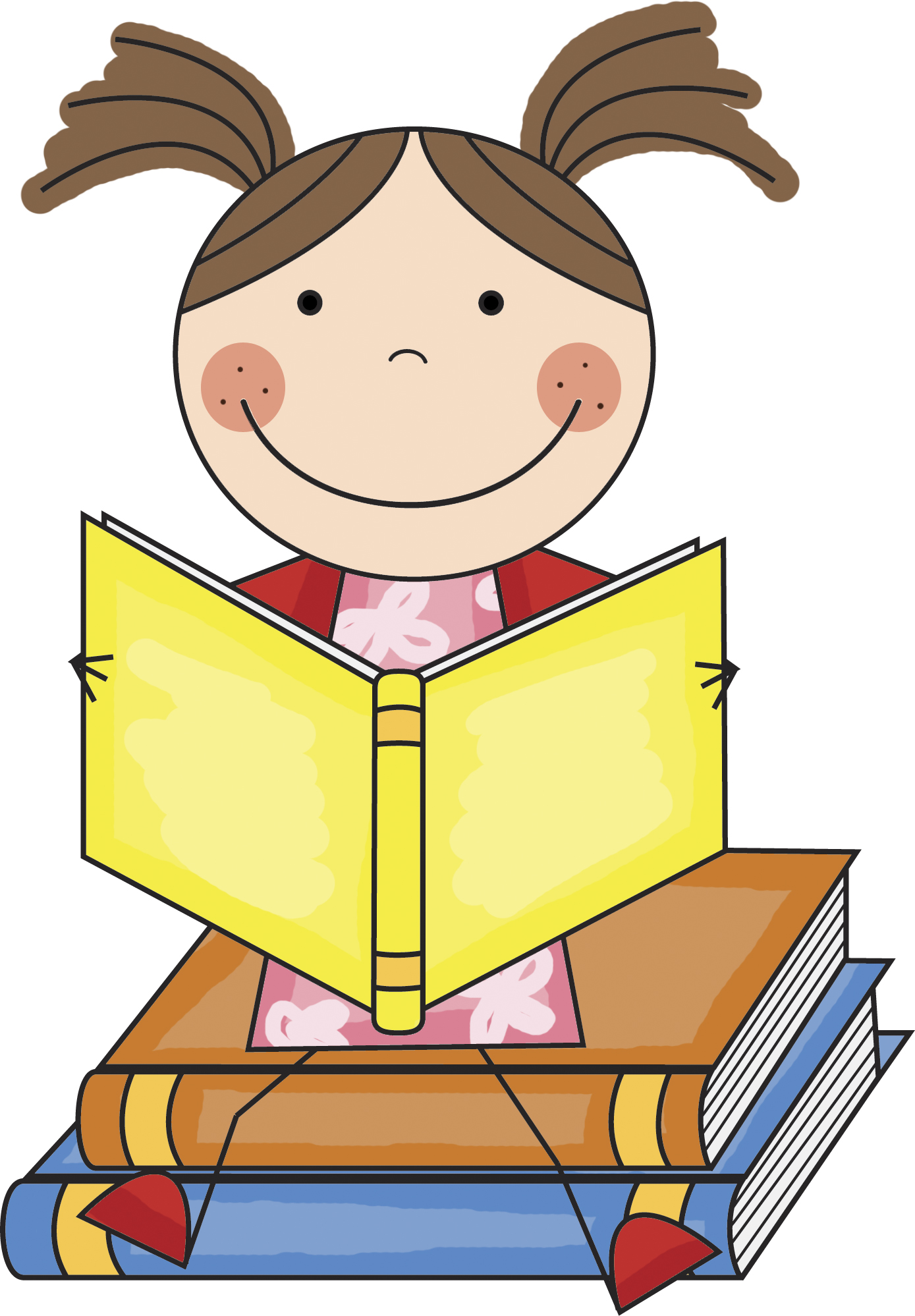 Book clipart easy Free Clip Free Clipart on