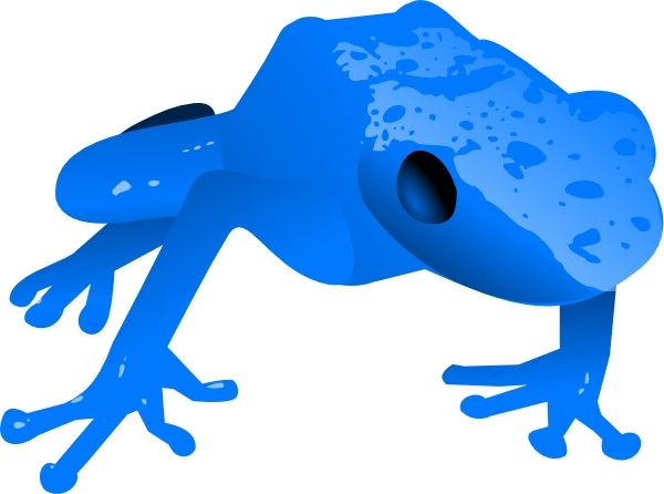 Poison Dart Frog clipart Poison vector Frog art Open