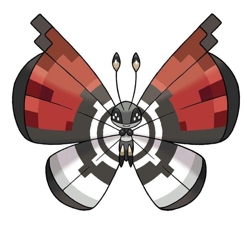 Pokeball clipart shiny Amino Pokémon Giveaway! Vivillon Vivillon