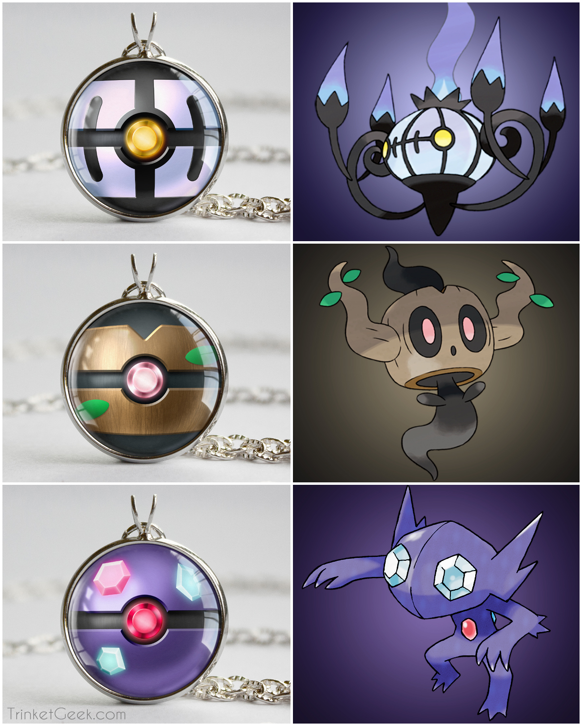 Pokeball clipart shiny Pokeball pokemon pendants Pokeball starter