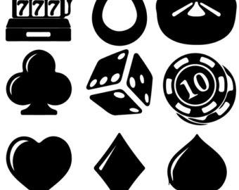 Poker clipart Clip Poker Vegas Art clip