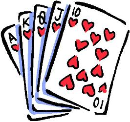 Poker clipart card game Clipart Download Game Card Game
