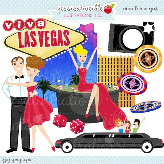 Las Vegas clipart  Il_570xn Vegas Commercial OK