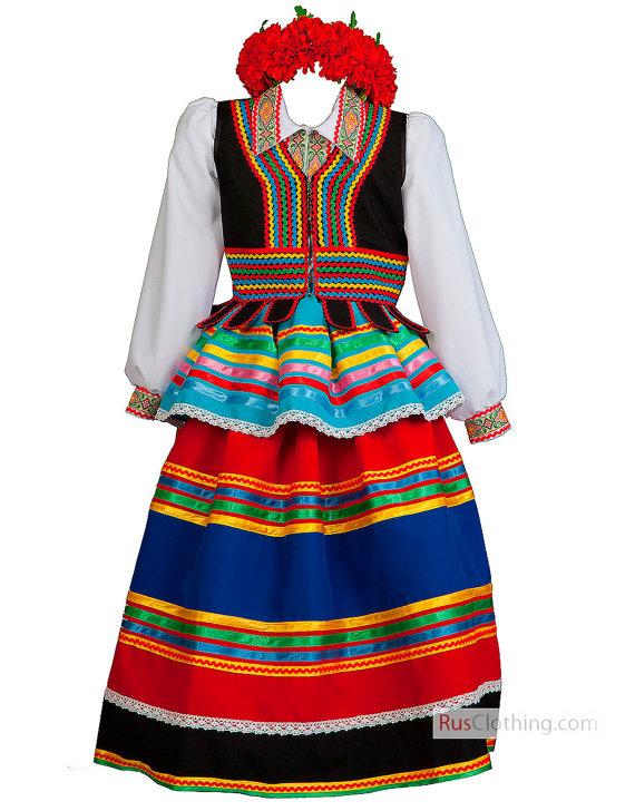 Poland clipart dress National dress dress ethnic dance