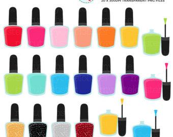 Iiii clipart nail Clipart Polish Nail art Set