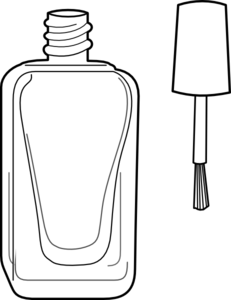 Nail clipart outline #6