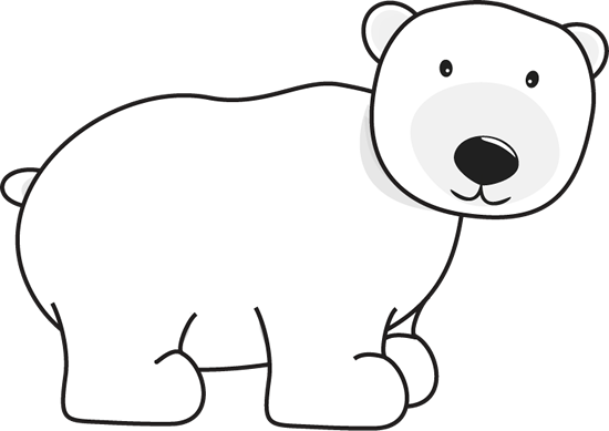 Winter clipart polar bear Polar Polar Bear Clip Polar