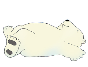Drawn polar  bear clipart Clip art bear Polar bear