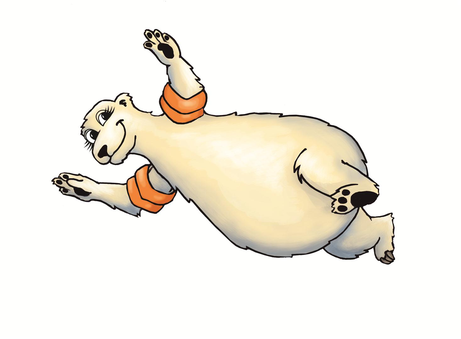 Diving clipart eagle Clipart Bear Gallery Swimming Polar