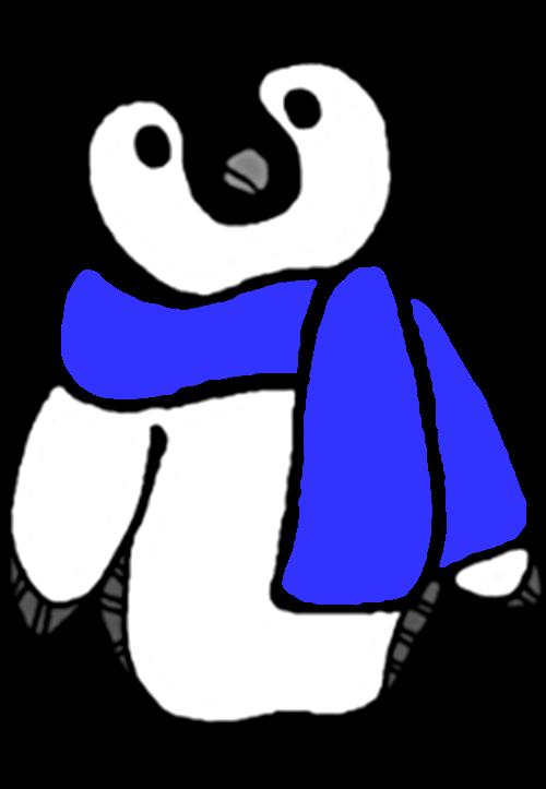 Penguin clipart scarf clipart Winter Clip Free Bear Polar