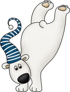 Winter clipart polar bear Bear Polar clip Art Bear