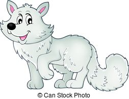 Polar Fox clipart #13