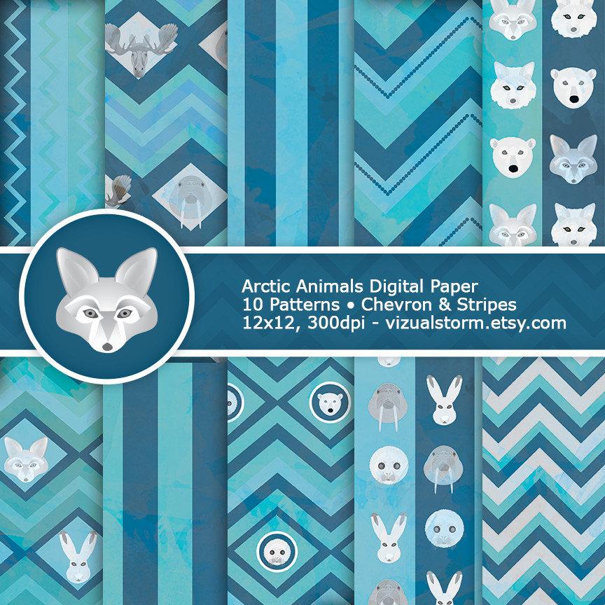 Polar Fox clipart printable Bear Polar Pack Arctic Animal