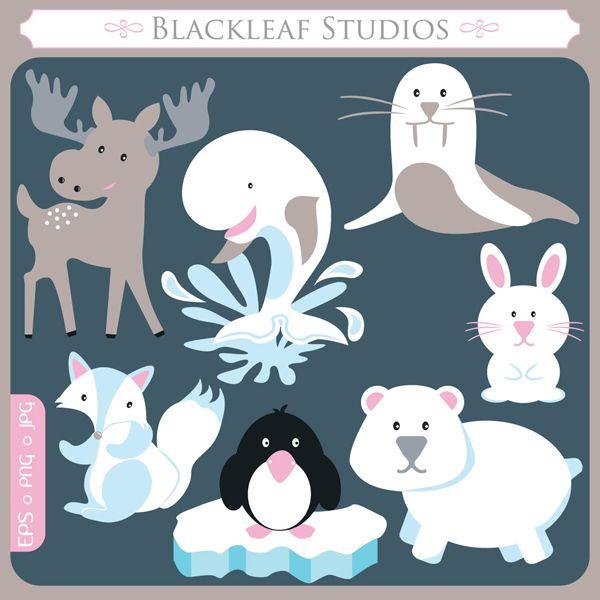Polar Fox clipart winter Pinterest Board Winter on
