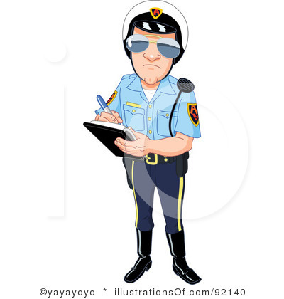 Traffic clipart policman Clipart Clipart And Police Panda