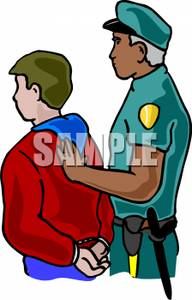 Police clipart arresting #3