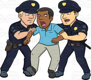 Police clipart arresting #6