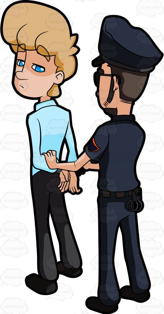 Police clipart arresting #8