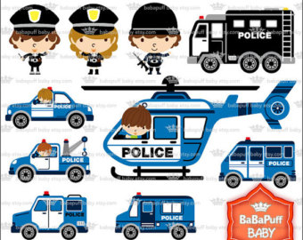 Vehicle clipart cop car Small Police clipart Personal car