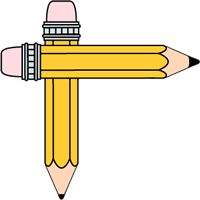 Pencil clipart divider My Clip in Pin name