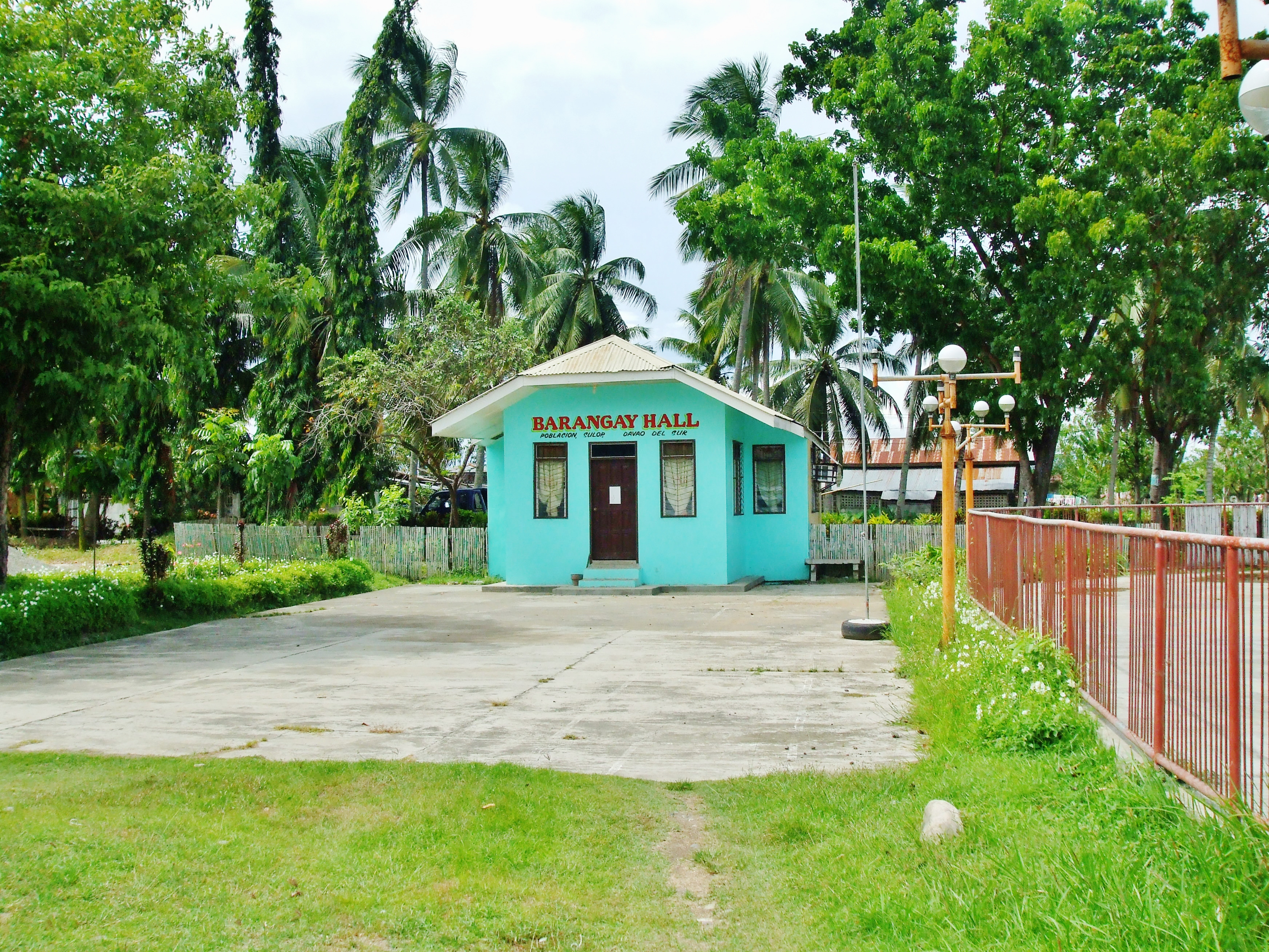 Town clipart barangay hall #9