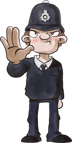 Slang clipart character About Police best uk collection