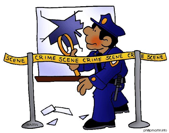 Riot clipart police investigation #14