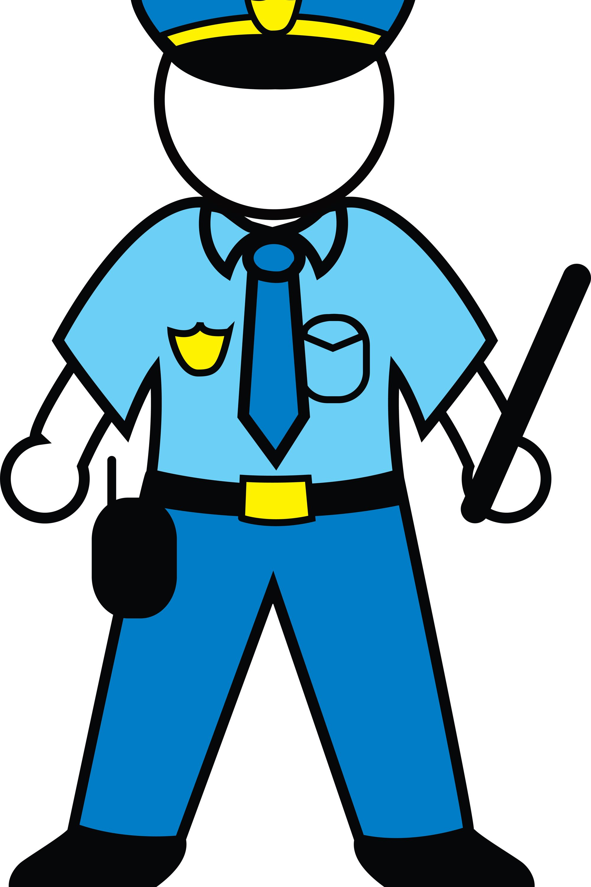 Police clipart customs officer Policeman Police Art Cartoon Custom