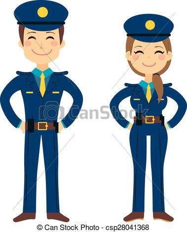 Woman clipart police Agents Agents  Police Cute