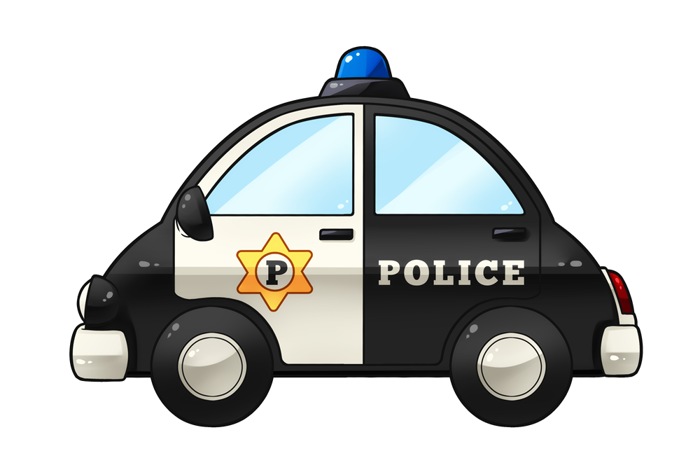 Vehicle clipart cop car & Police Clip to Car