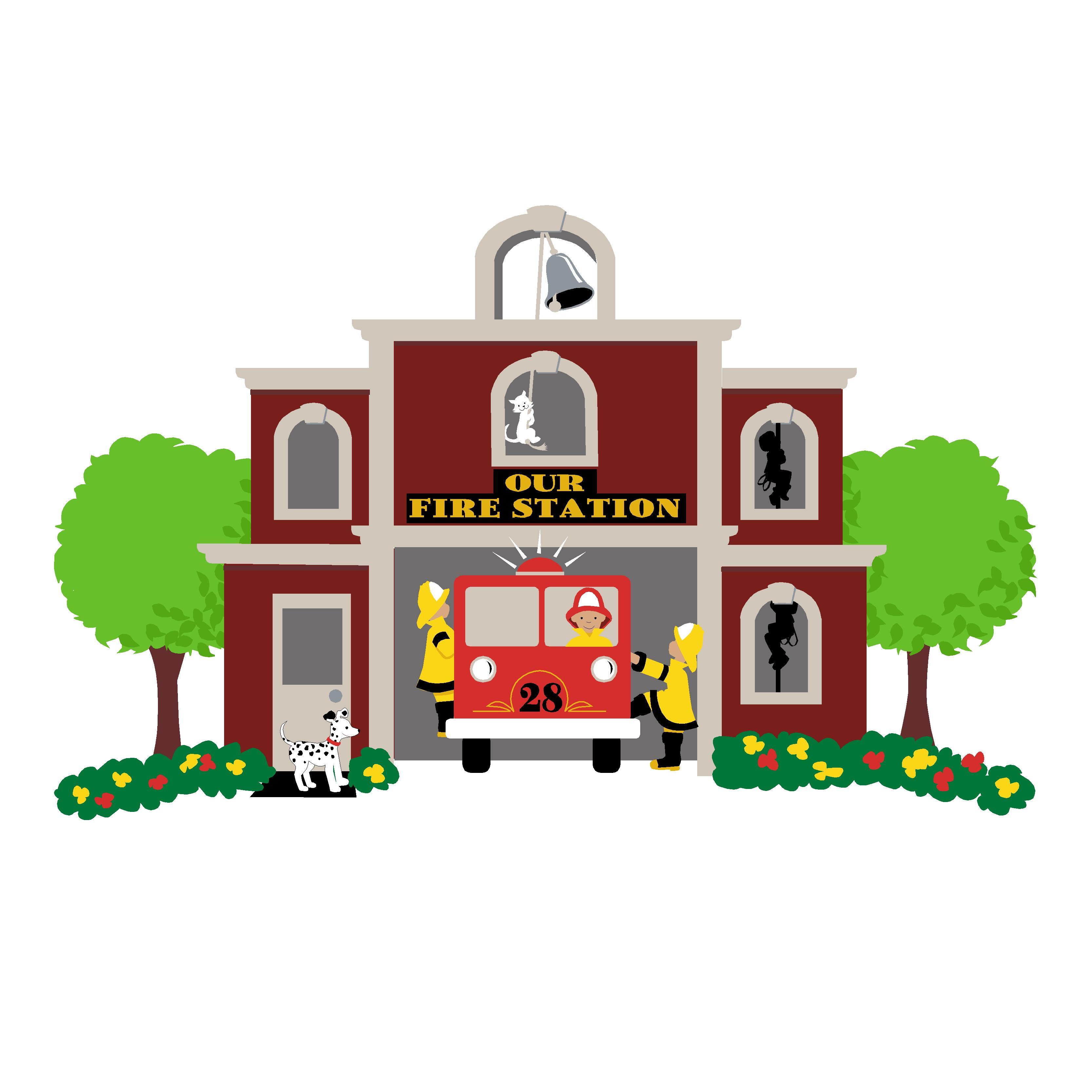 Police clipart fire station #12