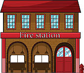 Police clipart fire station #11