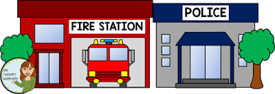 Police clipart fire station #9