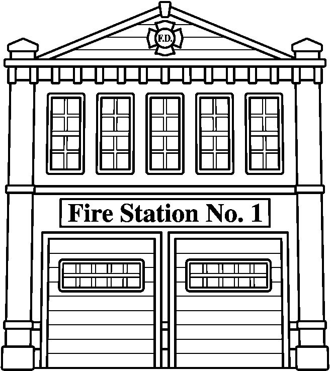 Police clipart fire station #10
