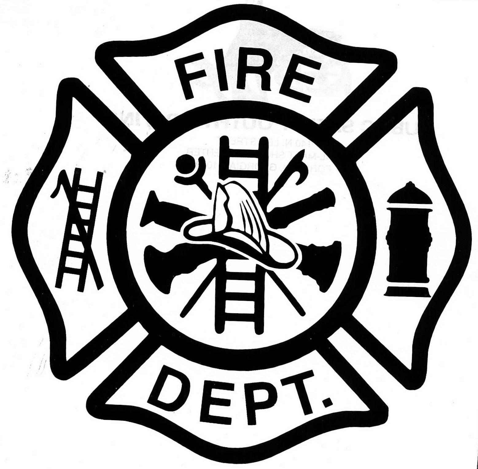 Firefighter clipart fire prevention Department Clinton Fire City