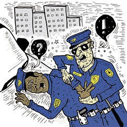 Police clipart frisk Stop on and Culley Racial