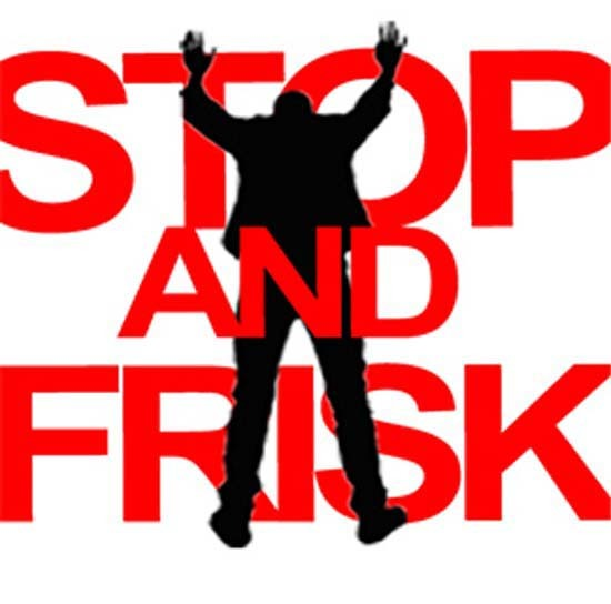 Police clipart frisk And Stop Frisk of Stop