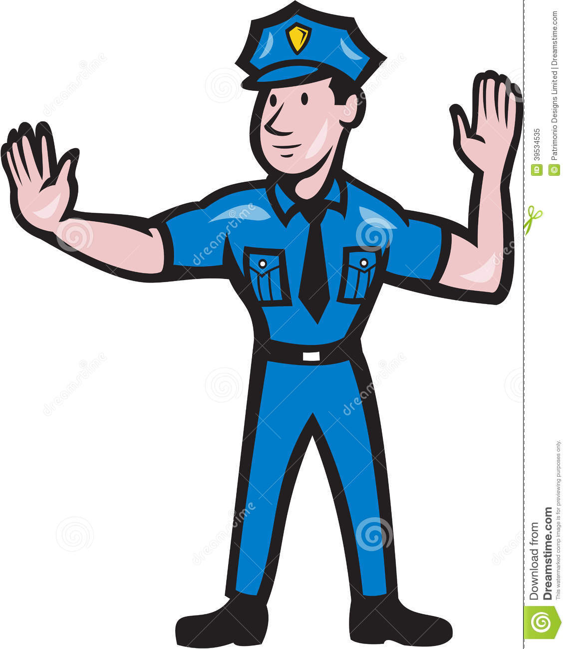 Stop clipart police man Free Panda Police Clipart Clipart