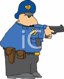 Drawing clipart police officer #12