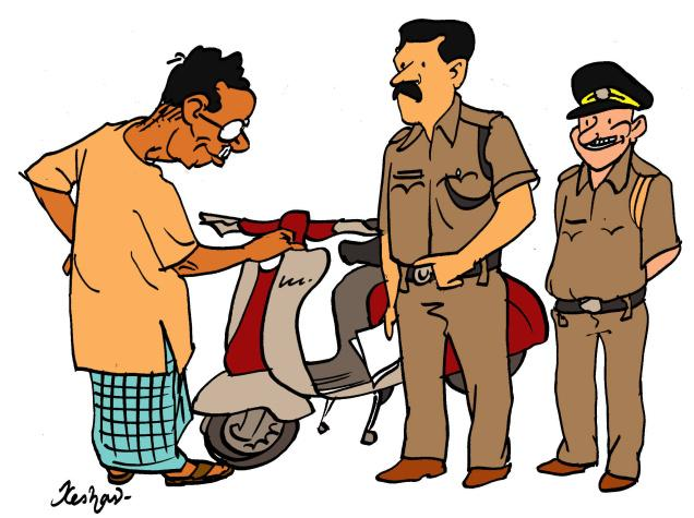 Traffic clipart indian Indian clipart Police police Cliparts
