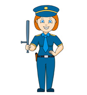 Woman clipart police Police Female Clipart Free Clipart