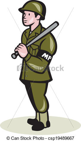 Police clipart military officer #8