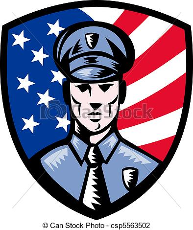 Drawing clipart police officer #7