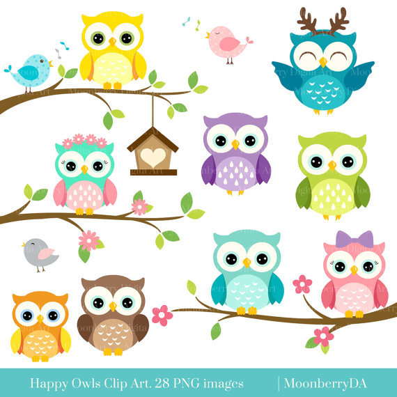 Baking clipart owls Scrapbooking OWLS features HAPPY perfect