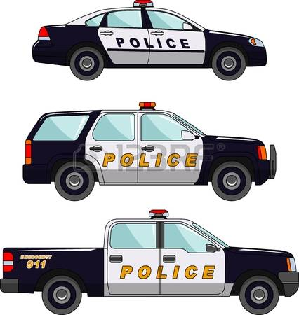 Vehicle clipart cop car Collection chase Stock Police 7